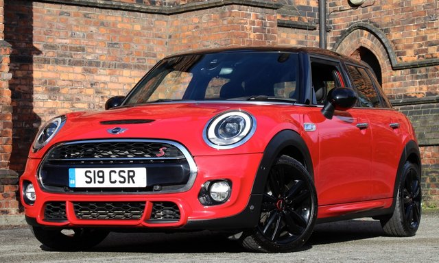 2015 15 MINI HATCH COOPER 2.0 COOPER S 5d AUTO 189 BHP [ JCW CHILI PACK ]