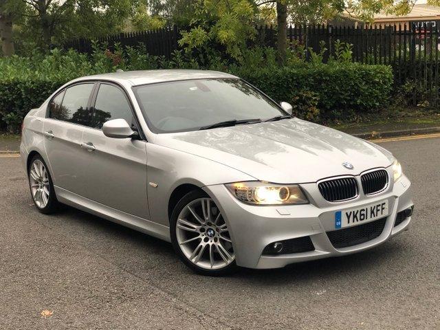 2011 61 BMW 3 SERIES 3.0 325D M SPORT 4d AUTO 202 BHP