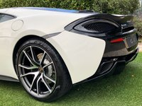 USED 2018 68 MCLAREN 570GT 3.8  A Truly Fantastic Driver's Car with Lotus like Steering and Outrageous Performance Trimmed with Beautiful High Quality Black & White Leather + Contrast Stitch, Heated Electric Memory Sports Seats + Embossed Mclaren Logo, Bowers and Wilkins Premium Sound, 19 Inch Front and 20 Inch Rear Diamond Cut Alloy Wheels, MSO Defined Black Pack, Vehicle Front Lifting System, Panoramic Glass Electrochromic Sunroof, Rear View Camera, 7 Inch Touch Screen Monitor - Satellite Navigation + Bluetooth Connecti
