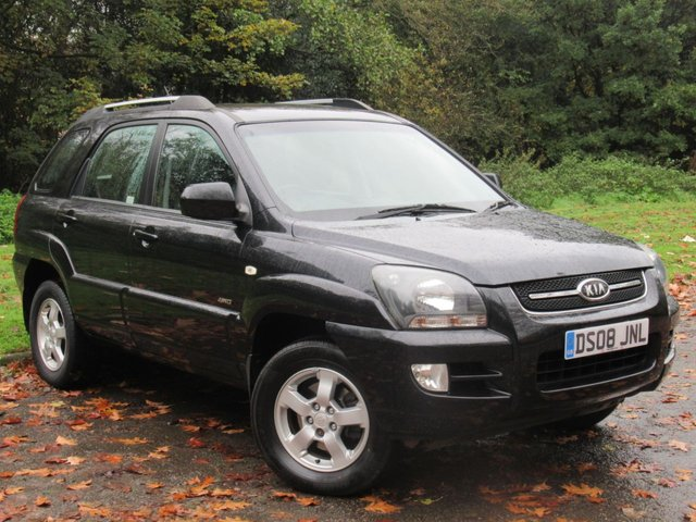 USED 2008 08 KIA SPORTAGE 2.0 XR 5d 140 BHP FULL LEATHER INTERIOR, 9 SERVICES