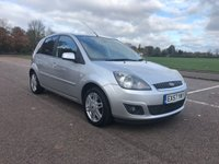 USED 2007 57 FORD FIESTA 1.4 ZETEC CLIMATE 16V 5d 80 BHP
