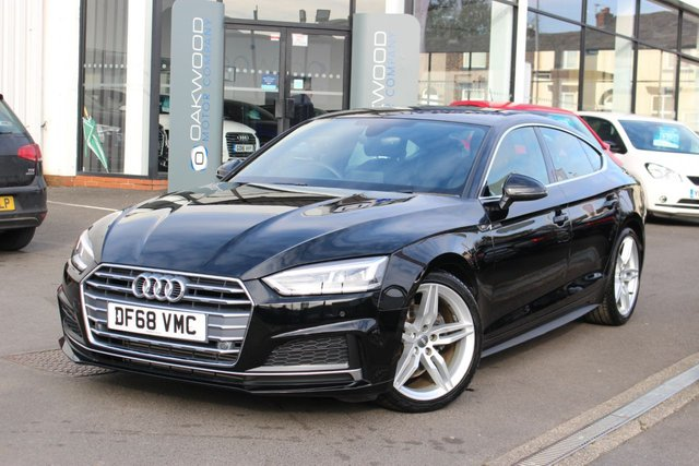 USED 2019 68 AUDI A5 2.0 TFSI 40 S line Sportback S Tronic (s/s) 5dr