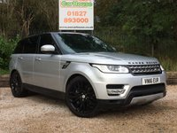 USED 2016 16 LAND ROVER RANGE ROVER SPORT 3.0 SDV6 HSE 5dr AUTO Contrast Roof & Black Pack