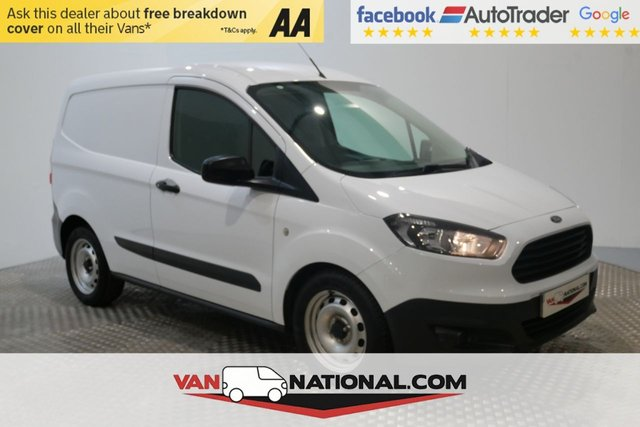 USED 2017 17 FORD TRANSIT COURIER 1.5 BASE TDCI 75 BHP (USB EURO 6 READY TO GO) * 1 OWNER * EURO 6 * ZERO DEPOSIT FINANCE AVAILABLE *