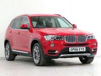 2016 BMW X3 2.0 xDrive20d xLine 5d Auto 188 bhp [£5,745 OPTIONS] £21442.00
