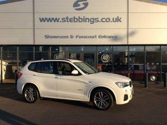 2016 BMW X3 2.0 XDRIVE20D M SPORT 5d 188 BHP £18500.00