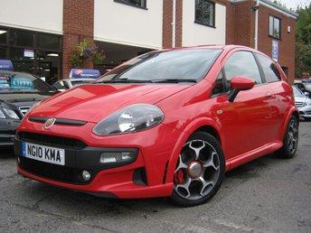 2010 ABARTH PUNTO EVO 1.4 ABARTH 3d 163 BHP £4995.00