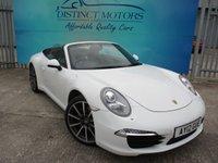 2012 PORSCHE 911 3.4 CARRERA PDK 2d AUTO 350 BHP 991 EDITION £44989.00