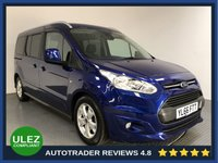 USED 2017 66 FORD GRAND TOURNEO CONNECT 1.5 TITANIUM TDCI 5d AUTO 118 BHP FULL FORD HISTORY - 1 OWNER - REAR SENSORS - AIR CON - BLUETOOTH - DAB RADIO - CRUISE - PRIVACY - CD PLAYER