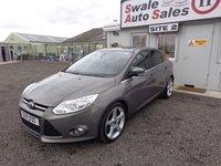 USED 2011 11 FORD FOCUS 1.6 TITANIUM X 148 BHP £31 PER WEEK, NO DEPOSIT - SEE FINANCE LINK