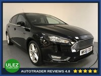 USED 2016 66 FORD FOCUS 1.6 TITANIUM 5d AUTO 124 BHP FULL FORD HISTORY - 1 OWNER - SAT NAV - AIR CON - BLUETOOTH - DAB - CRUISE - PRIVACY - AUX / USB