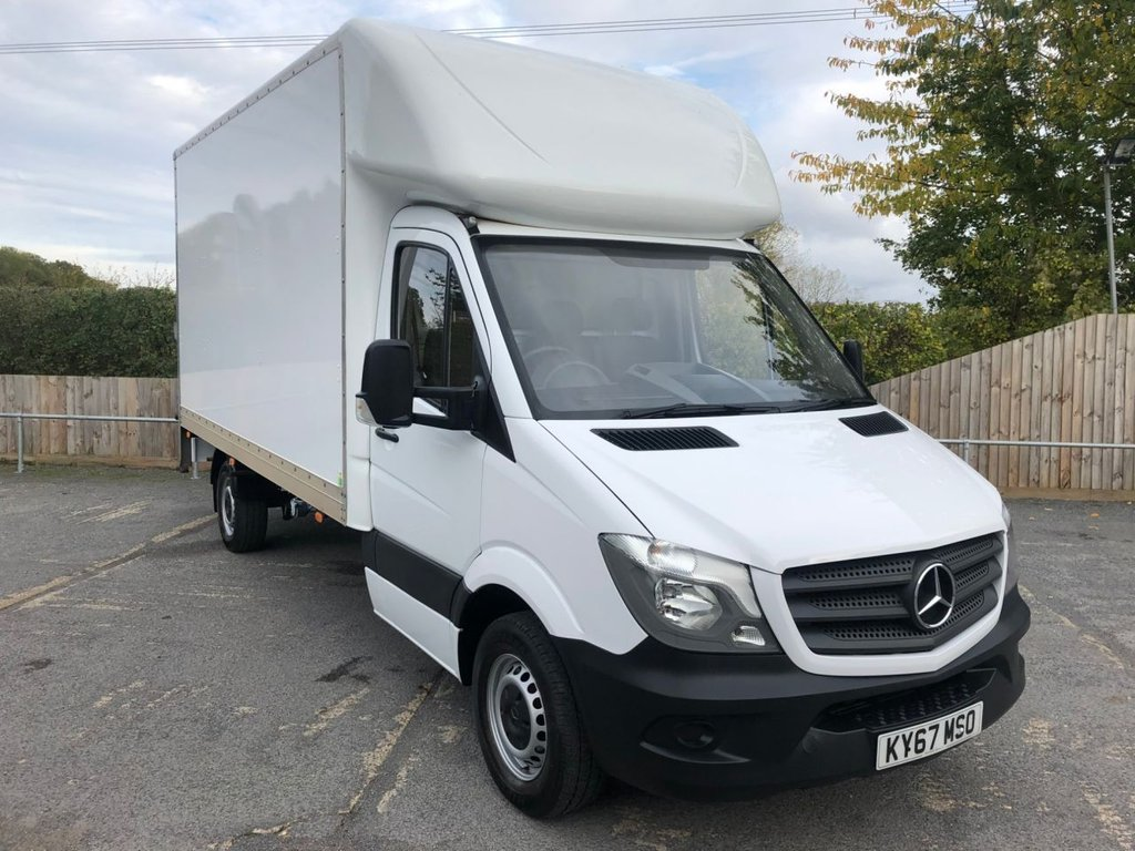 USED 2017 67 MERCEDES-BENZ SPRINTER 2.1CDI 314 LUTON TAIL-LIFT (EURO 6)(140 BHP)