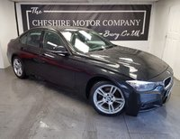 USED 2013 13 BMW 3 SERIES 2.0 320D M SPORT 4d 181 BHP + SAT NAV + FULL LEATHER