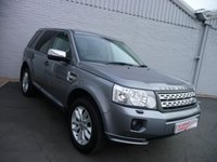USED 2012 12 LAND ROVER FREELANDER 2.2 SD4 HSE (AUTO)