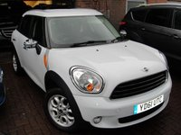 2011 MINI COUNTRYMAN 1.6 ONE 5d 98 BHP £4799.00