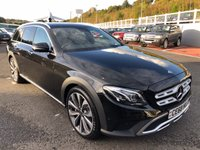 USED 2018 68 MERCEDES-BENZ E CLASS 2.9 E 400 D 4MATIC ALL TERRAIN EDITION 5d AUTO 336 BHP ALL TERRAIN Edition, 336bhp Diesel with very high specification
