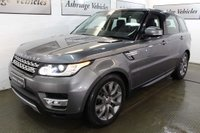 USED 2015 65 LAND ROVER RANGE ROVER SPORT 3.0 SD V6 HSE 4X4 (s/s) 5dr PAN ROOF! 1 LADY OWNER! EURO 6