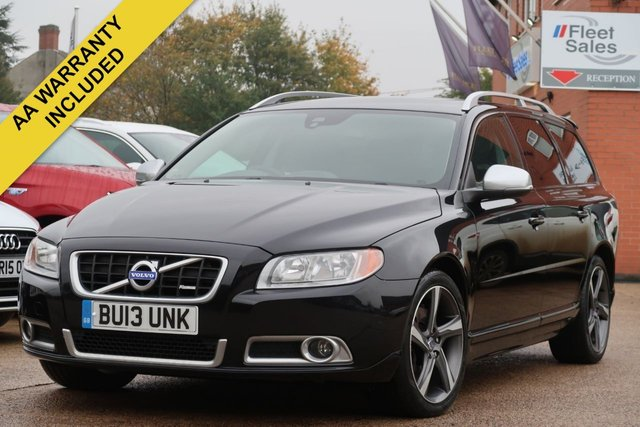 USED 2013 13 VOLVO V70 2.0 D3 R-DESIGN 5d 134 BHP COMPREHENSIVE SERVICE HISTORY + AA WARRANTY INCLUDED
