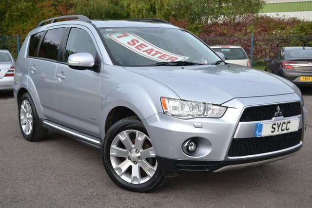 USED 2011 11 MITSUBISHI OUTLANDER 2.3 DI-D GX 4 5d 175 BHP 7 SEATS ~ SAT NAV ~ REVERSE CAMERA SAT NAV ~ REVERSE CAMERA ~ ROCKFORD FOSGATE ~ HEATED LEATHER