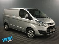 USED 2015 65 FORD TRANSIT CUSTOM 2.2 270 LIMITED L1H1 * 0% Deposit Finance Available