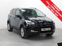 USED 2016 66 FORD KUGA 2.0 TITANIUM NAVIGATION TDCI 5d AUTO 177 BHP 4x4 Stunning Ford Kuga 2.0 Auto Titanium Navigation 4x4 AUTO, has just had 1 Previous Owner, comes with Full Ford Service History and an MOT to July 2020. Comes with a great specification including SAT NAV, Half Leather, Parking Sensors, Heated Front and Rear Windscreen, Ford Sync, Cruise Control, Bluetooth, Air Conditioning, Leather Multi-Functional Steering Wheel, 2 Keys and comes in Metallic panther Black, Nationwide Delivery Available. Finance Available at 9.9% APR Representative.
