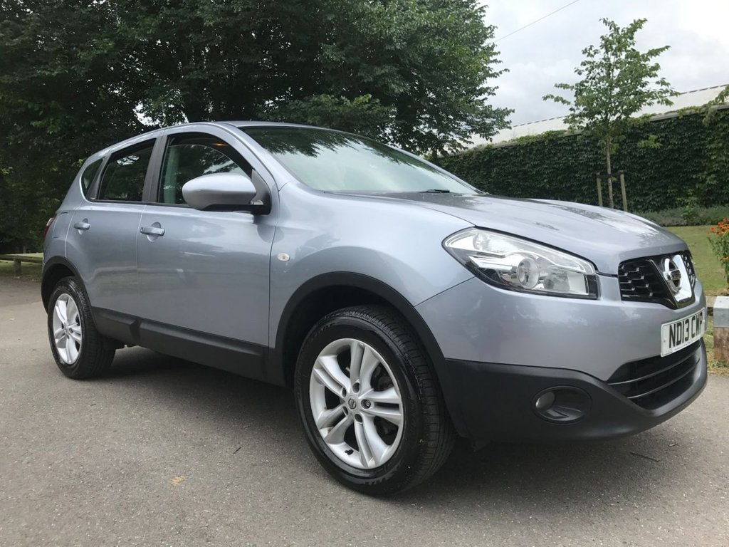 USED 2013 13 NISSAN QASHQAI 1.6 Acenta 2WD 5dr 1 FORMER OWNER FULL HISTORY