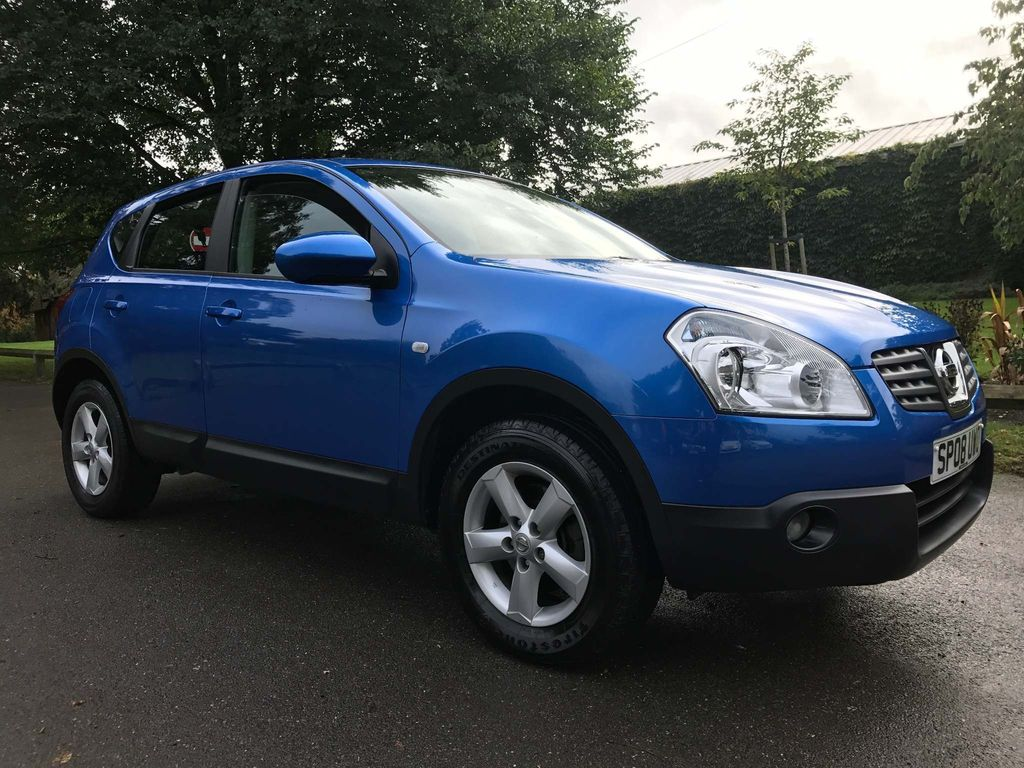 USED 2008 08 NISSAN QASHQAI 1.6 Acenta 2WD 5dr ONLY 43000 MILES !!