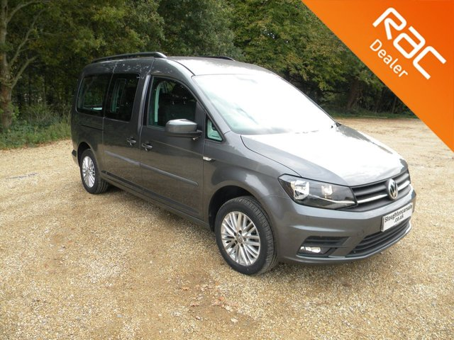 USED 2017 17 VOLKSWAGEN CADDY MAXI 2.0 C20 LIFE TDI 5d 148 BHP Great Size Family Car! 7 Seats, Rear Parking Sensors, Alloy Wheels, Air Con