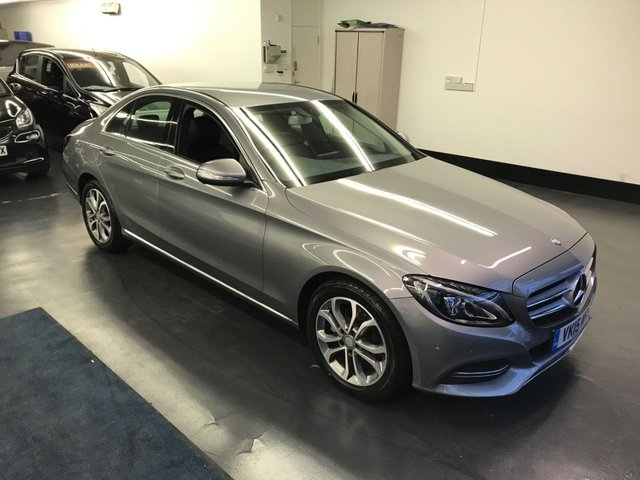USED 2015 15 MERCEDES-BENZ C CLASS 2.0 C200 SPORT 4d AUTO 184 BHP 1 OWNER FROM NEW, REAR CAMERA, SAT NAV, BLUETOOTH PHONE AND AUDIO, LED HIGH PERFORMANCE HEADLIGHT SYSTEM