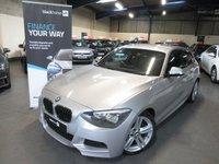2013 BMW 1 SERIES 2.0 118D M SPORT 3d 141 BHP £6990.00