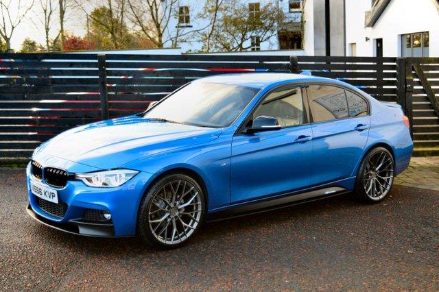 2016 66 BMW 3 SERIES 2.0 320D M SPORT 4d AUTO 188 BHP LCI