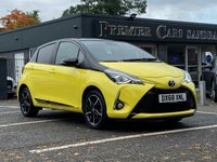 2018 TOYOTA YARIS 1.5 VVT-I YELLOW EDITION 5d 110 BHP £10990.00