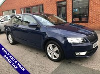 "USED 2016 66 SKODA OCTAVIA 2.0 SE TDI 5d 148 BHP ONLY £20 Road Tax : Satellite Navigation  :  USB & AUX Sockets  :  Bluetooth Connectivity  : Cloth Upholstery  :  Climate Control / Air Conditioning    :    Rear Parking Sensors   :   16"" Alloy Wheels"