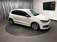 USED 2013 62 VOLKSWAGEN POLO 1.2 R LINE TSI 3d 104 BHP **FREE UK DELIVERY**