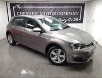 USED 2016 65 VOLKSWAGEN GOLF 1.6 MATCH TDI BLUEMOTION TECHNOLOGY 5d 109 BHP