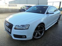 USED 2011 11 AUDI A5 2.0 TFSI BLACK EDITION 2d 177 BHP Superb Condition, Stunning Looking Car, Low Mileage, No Deposit Finance Available, Part Exchange Welcomed
