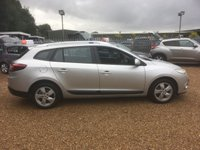 USED 2012 12 RENAULT MEGANE 1.5 DYNAMIQUE TOMTOM DCI ECO 5d 110 BHP FULLY AA INSPECTED - FINANCE AVAILABLE