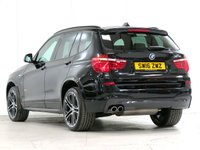 "USED 2016 16 BMW X3 3.0 xDrive30d M Sport 5d Auto 255 bhp [£2,405 OPTIONS] 20""ALLOYS HEAT-STEERING XENONS"