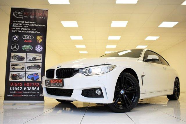 2015 65 BMW 4 SERIES 420D M SPORT AUTOMATIC