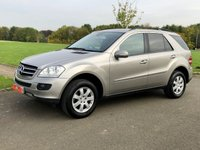 USED 2006 56 MERCEDES-BENZ M CLASS 3.0 ML320 CDI SE AUTO 222 BHP 5DR ESTATE +SATNAV+LEATHER+F/S/HISTORY