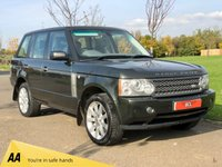 USED 2005 05 LAND ROVER RANGE ROVER 4.2 V8 SUPERCHARGED AUTO 391 BHP 5DR ESTATE +2 TONE LTHR+REAR ENTERTAINMENT*