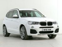 USED 2016 16 BMW X3 2.0 xDrive20d M Sport DESIGN 5d Auto 188 bhp [£7,030 OPTIONS] HEADUP VISIBILITY CAM HARMAN