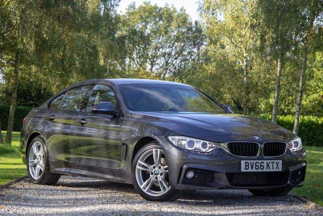 2016 66 BMW 4 SERIES 2.0 420D M SPORT GRAN COUPE 4d AUTO 188 BHP