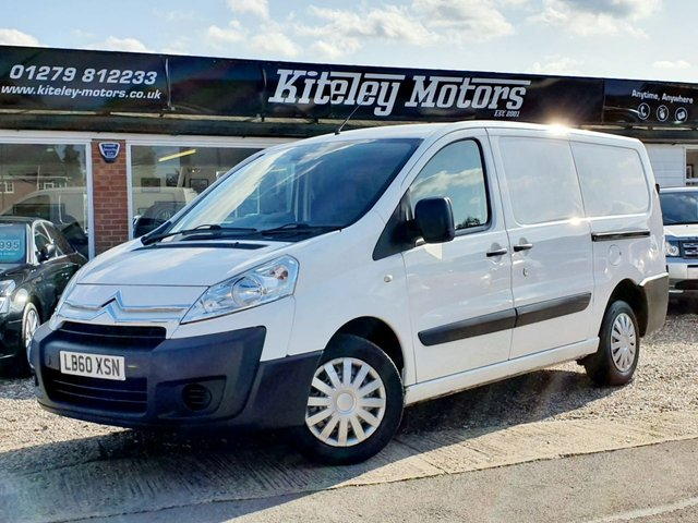 2011 60 CITROEN DISPATCH 1.6 1200 L2H1 LWB HDI 90 89 BHP