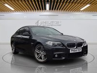 """USED 2014 64 BMW 5 SERIES 2.0 525D M SPORT 4d AUTO 215 BHP **FREE FROM ULEZ CHARGE** Sat Nav 