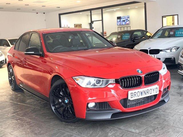 USED 2014 64 BMW 3 SERIES 3.0 335D XDRIVE M SPORT 4d 309 BHP BM PERFORMANCE STYLING+SAT NAV