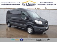 USED 2016 16 FORD TRANSIT 2.2 310 TREND SHR P/V 124 BHP One Owner All FORD History NAV Buy Now, Pay Later Finance!