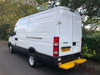 USED 2012 62 IVECO DAILY 3.0 50C15V 146 BHP COMPRESSOR VAN 110 VOLT ELECTRICS