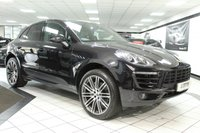 USED 2014 64 PORSCHE MACAN 3.0 D S PDK 258 BHP PASM PAN ROOF 21'S FPSH BOSE