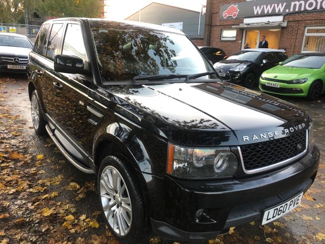 USED 2010 60 LAND ROVER RANGE ROVER SPORT 3.0 TDV6 HSE 5d AUTO 245 BHP WELL MAINTAINED EXAMPLE WITH FULL MAIN DEALER SERVICE HISTORY  TO  ALLOY WHEELS, PARK SENSORS, PANORAMIC ROOF, HEATED WINDSCREEN, HEATED LEATHER SEATS, RADIO/CD/AUX/USB, CRUISE CONTROL, CLIMATE CONTROL, SATELLITE NAVIGATION